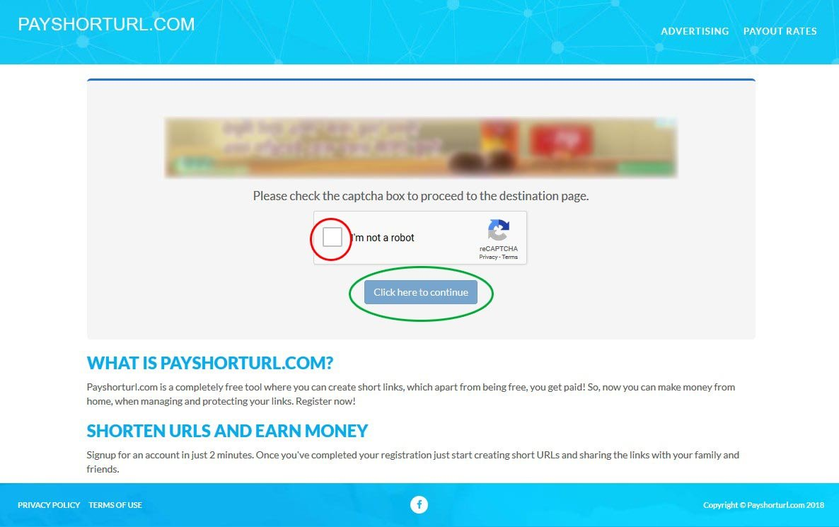 PayShortUrl Guide - How to Go through PayShortUrl