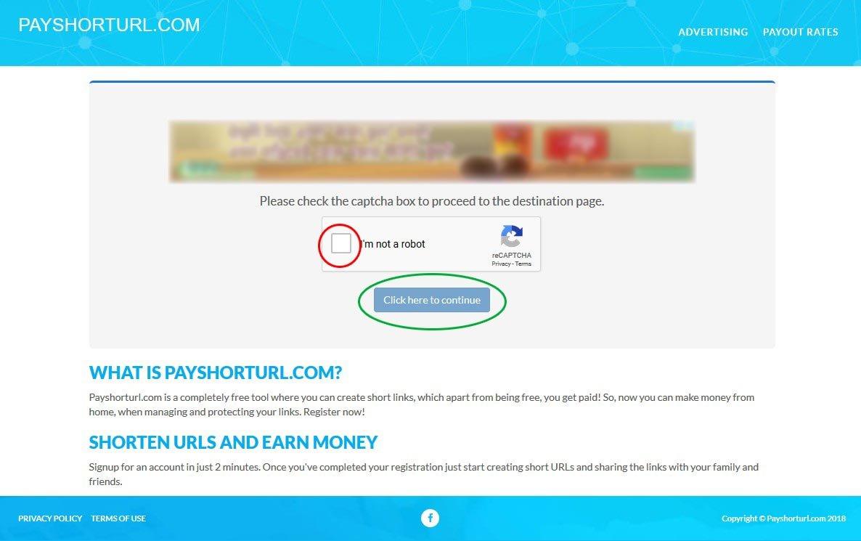 PayShortUrl Guide - How to Go through PayShortUrl
