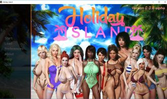 Holiday Island - 0.2.3.2 Beta 18+ Adult game cover