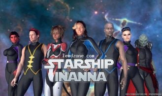 Starship Inanna - 8.6 18+ Adult game cover