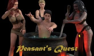 Peasant's Quest - 2.10, 2.05, 2.01, 2.00, 1.82, 1.81, 1.76, 1.75, 1.71, 1.62, 1.61, 1.62, 1.60 Testversion, 1.54, 1.53, 1.41, 1.32, 1.15, 1.04, 0.81 18+ Adult game cover