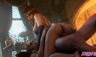 Geralt Fucks Cerys an Craite Cover