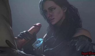 In the Bedroom with Yennefer Cover