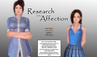 Research Into Affection - v0.6.11, 0.6.10, 0.6.9, 0.6.8, 0.6.7, 0.6.6, 0.6.5, 0.6.4, 0.6.2, 0.6.1, 0.6.0b, 0.5.7 Dev Build, 0.5.2 Dev Build, 0.5.0, 0.4.0, 0.0.39, 0.0.30, 0.0.25, 0.0.20 18+ Adult game cover
