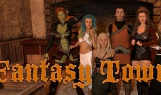 Fantasy Town - 0.29.0b 18+ Adult game cover