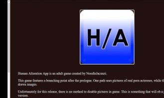Human Alteration App - 1.0, 0.9, 0.8, 0.7.5, 0.7, 0.6.0 18+ Adult game cover