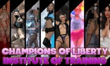 Champions of Liberty Institute of Training - 0.47 18+ Adult game cover
