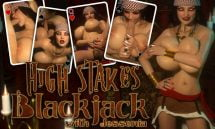 High Stakes Blackjack With Jessenia - Final 18+ Adult game cover