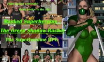 Masked Superheroine : The Green Shadow Rachel - 1.02 18+ Adult game cover